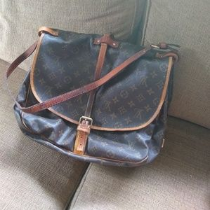 Authentic Louis Vuitton Saumur 35 Bag Vintage